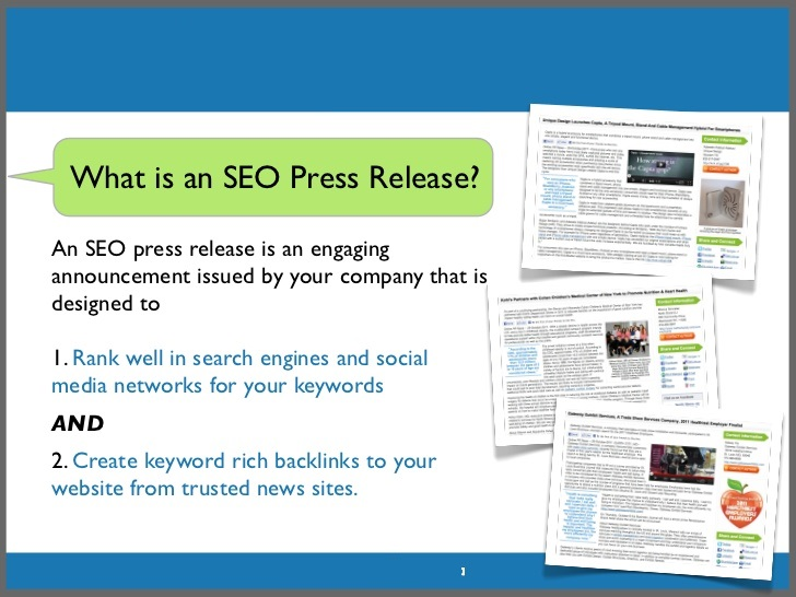 What is Press Release Submission in SEO?