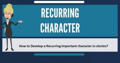 How to Develop a Recurring Important character in stories?